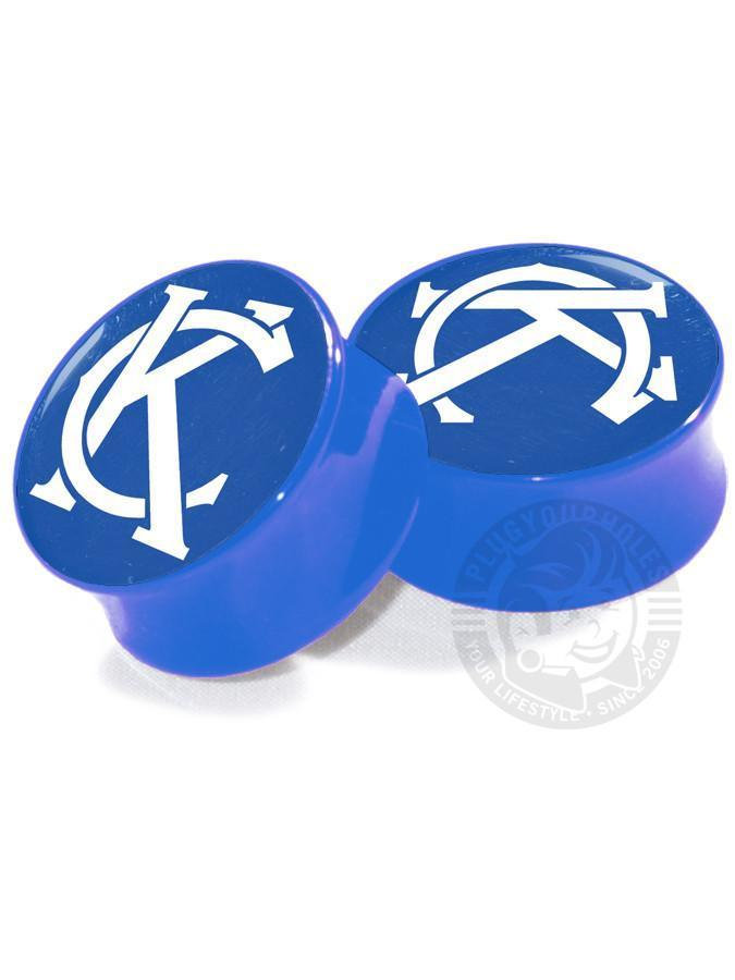 KC Monogram - Kansas City - Image Plugs