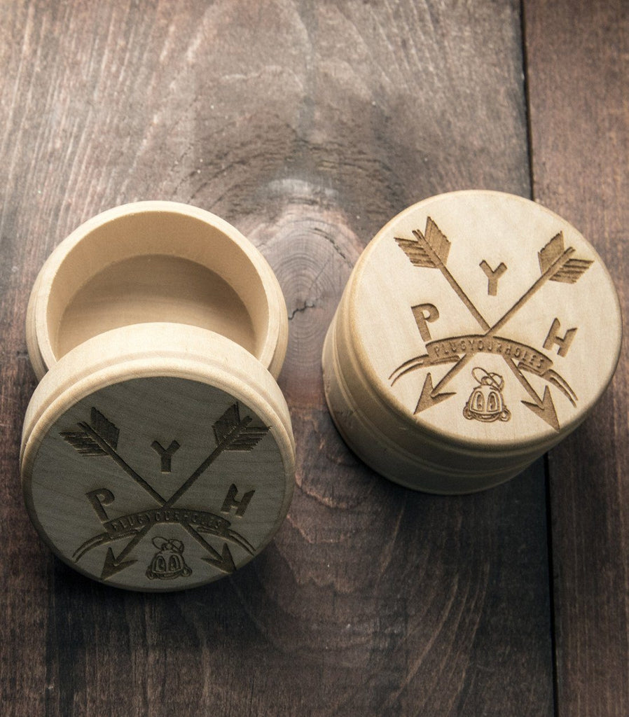 PYH Arrows - Engraved Plug Box