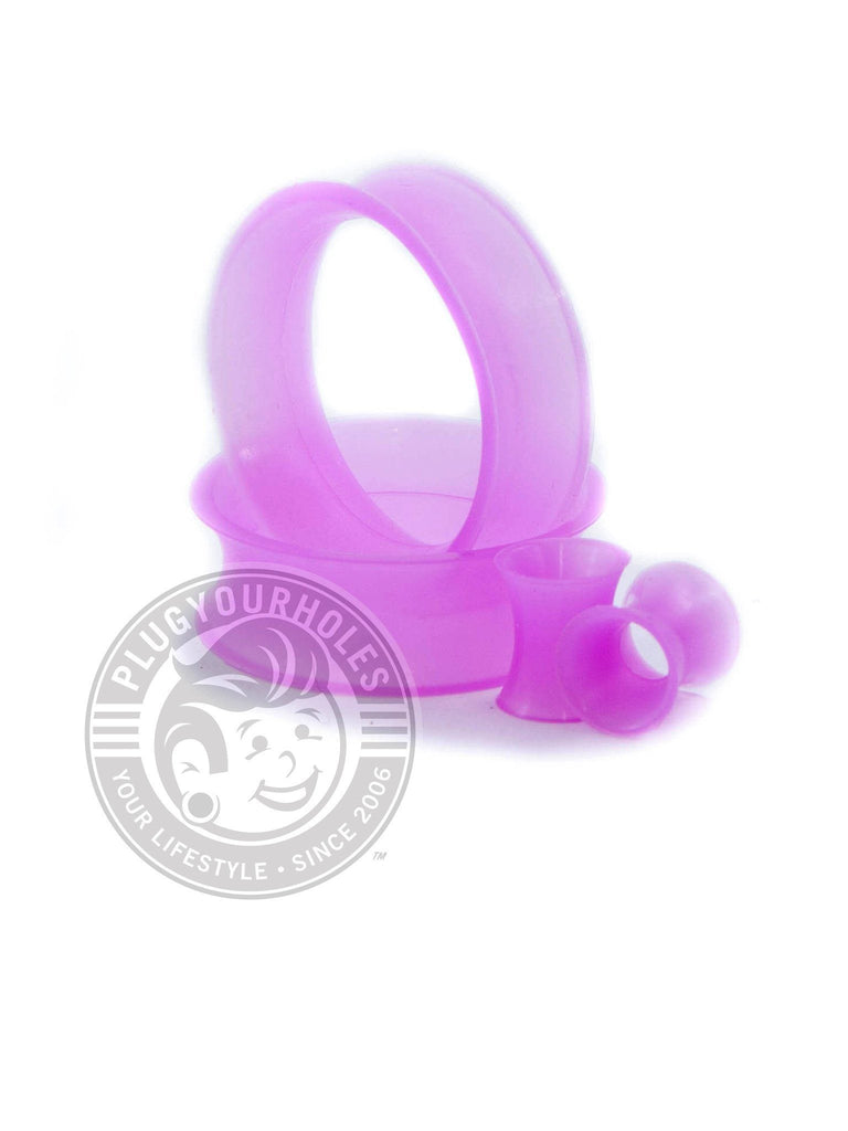 Purple Silicone Ear Skins