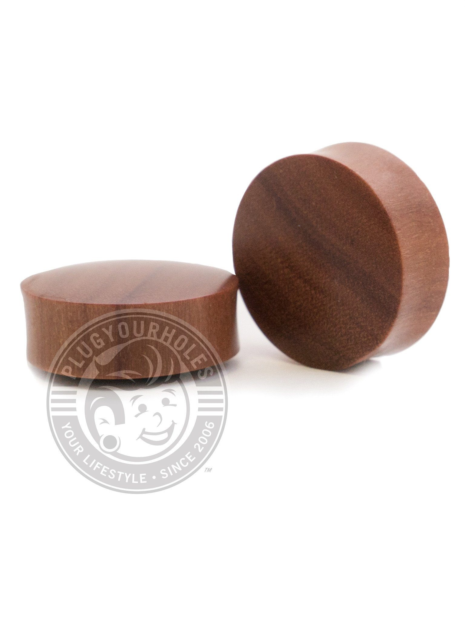 Saba Convex Wood Plugs