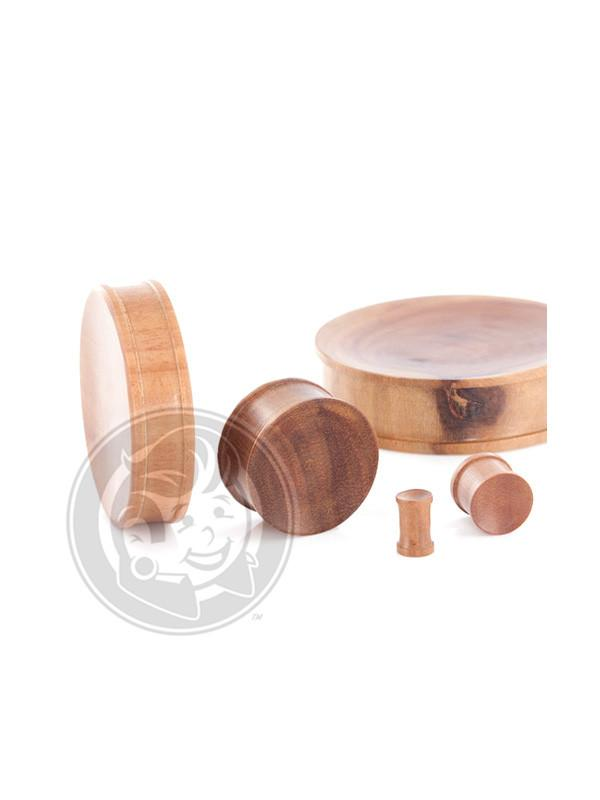 Saba Wood Concave Plugs - Plug Your Holes - Your Lifestyle, Since 2006.  - 2