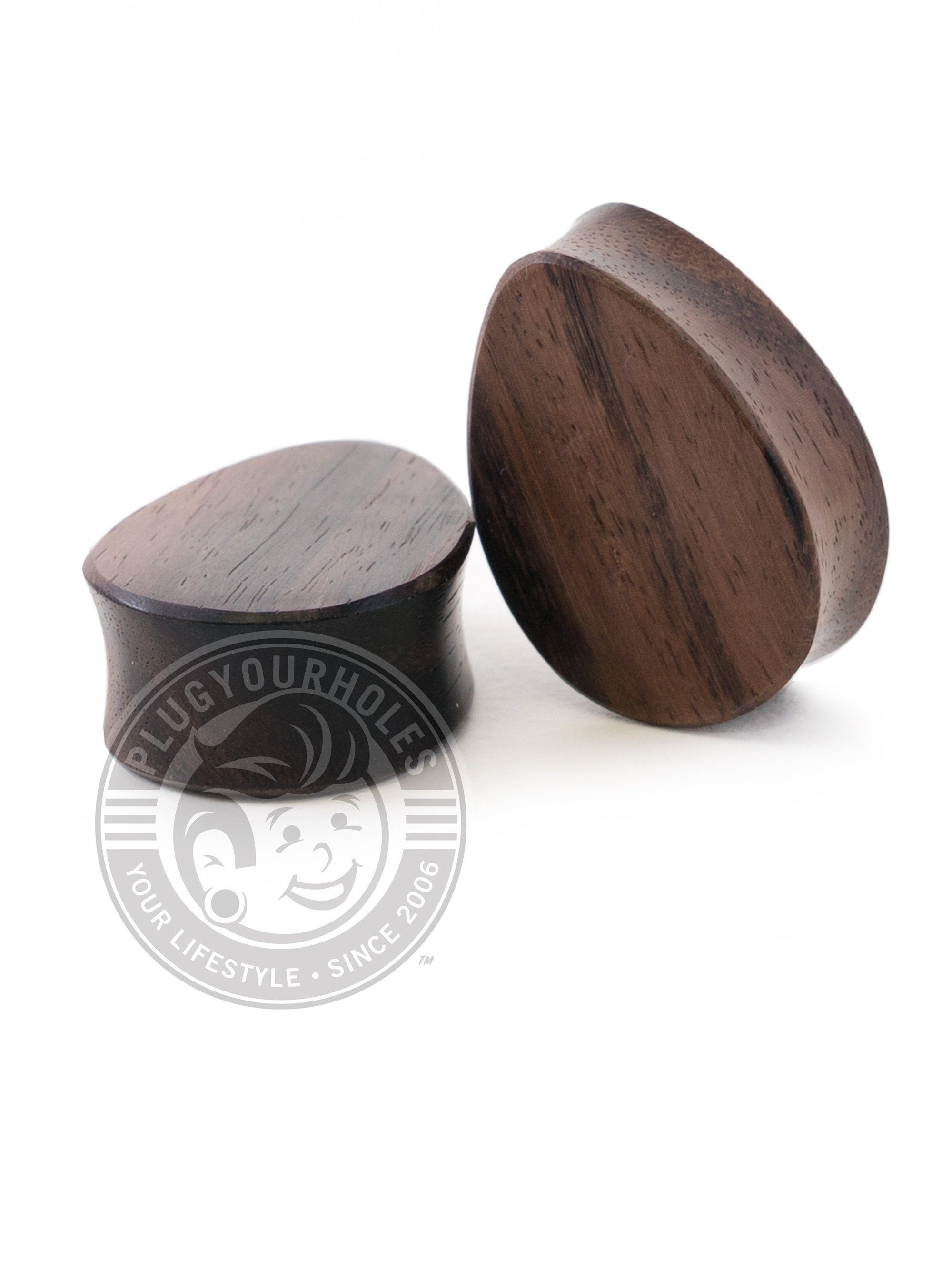 Tear Drop Sono Wood Plugs
