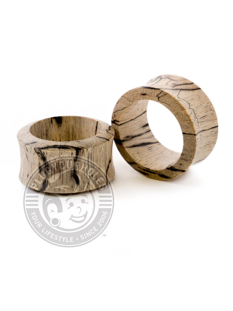 Tamarin Thin Wall Wood Tunnels - Plugyourholes.com