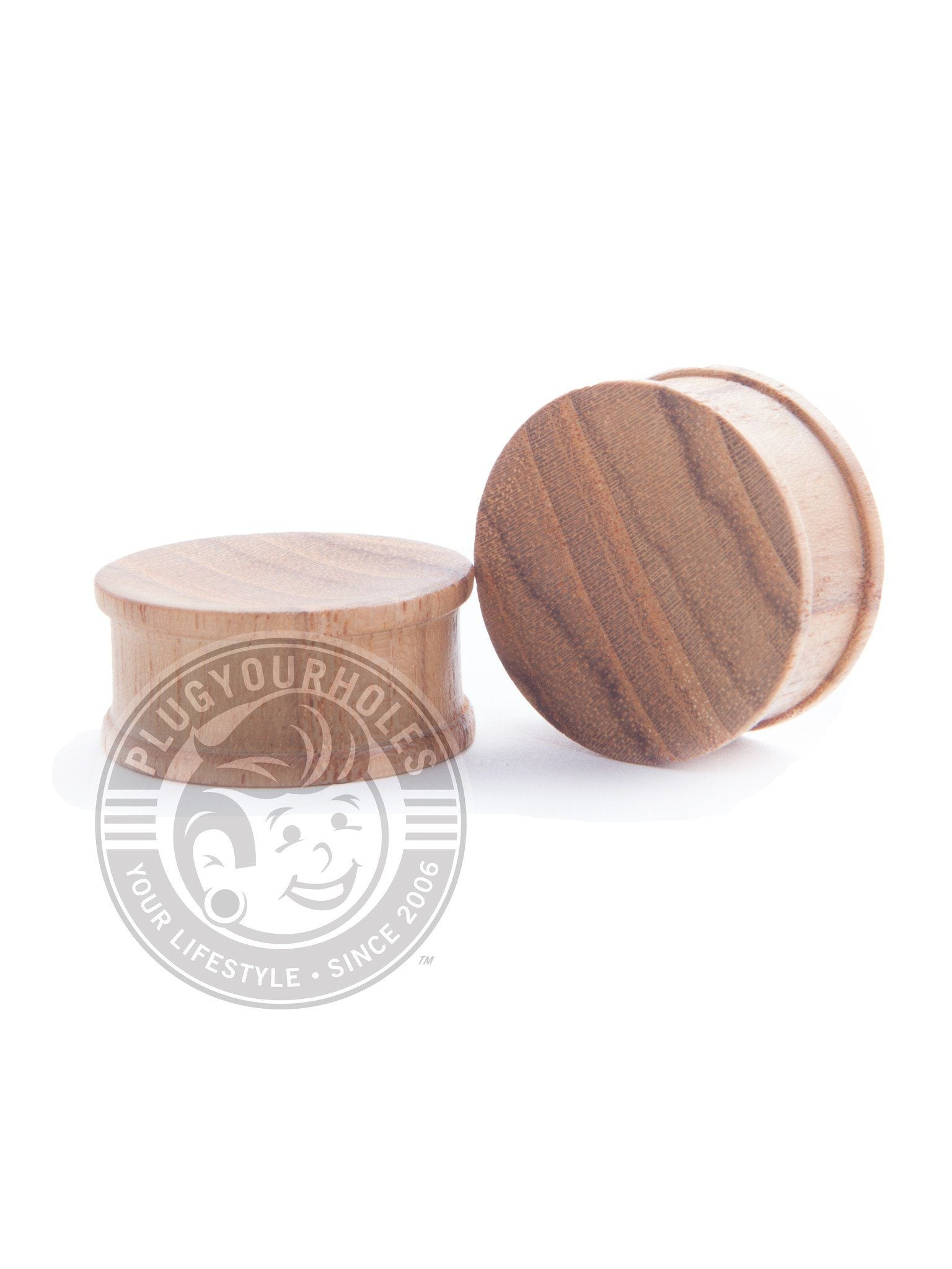 Teak Concave Wood Plugs