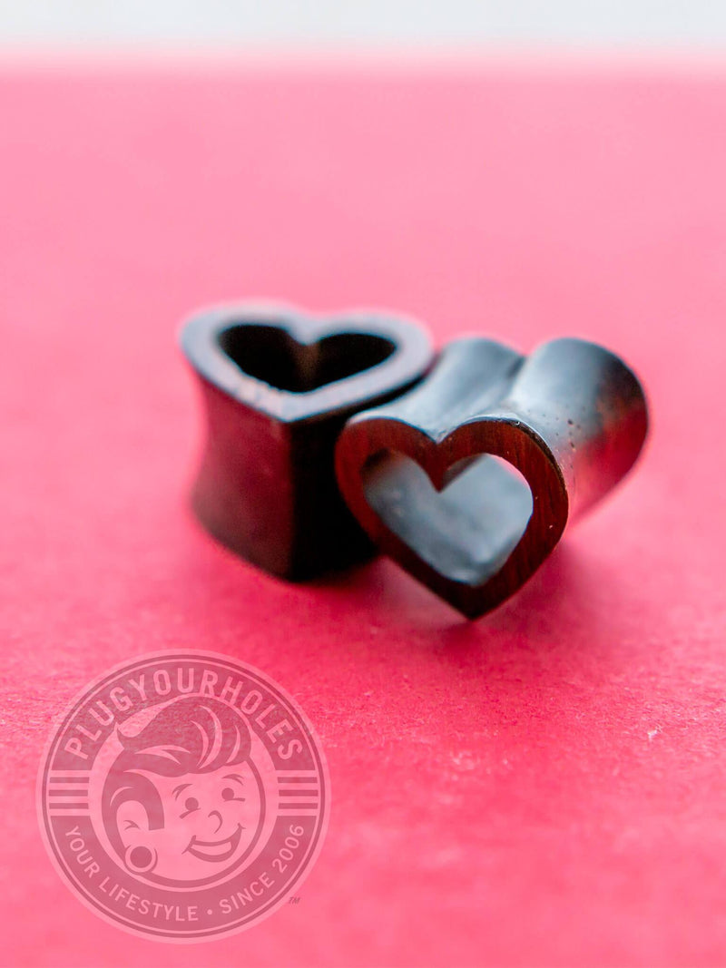Sono Wood Heart Shaped Tunnels