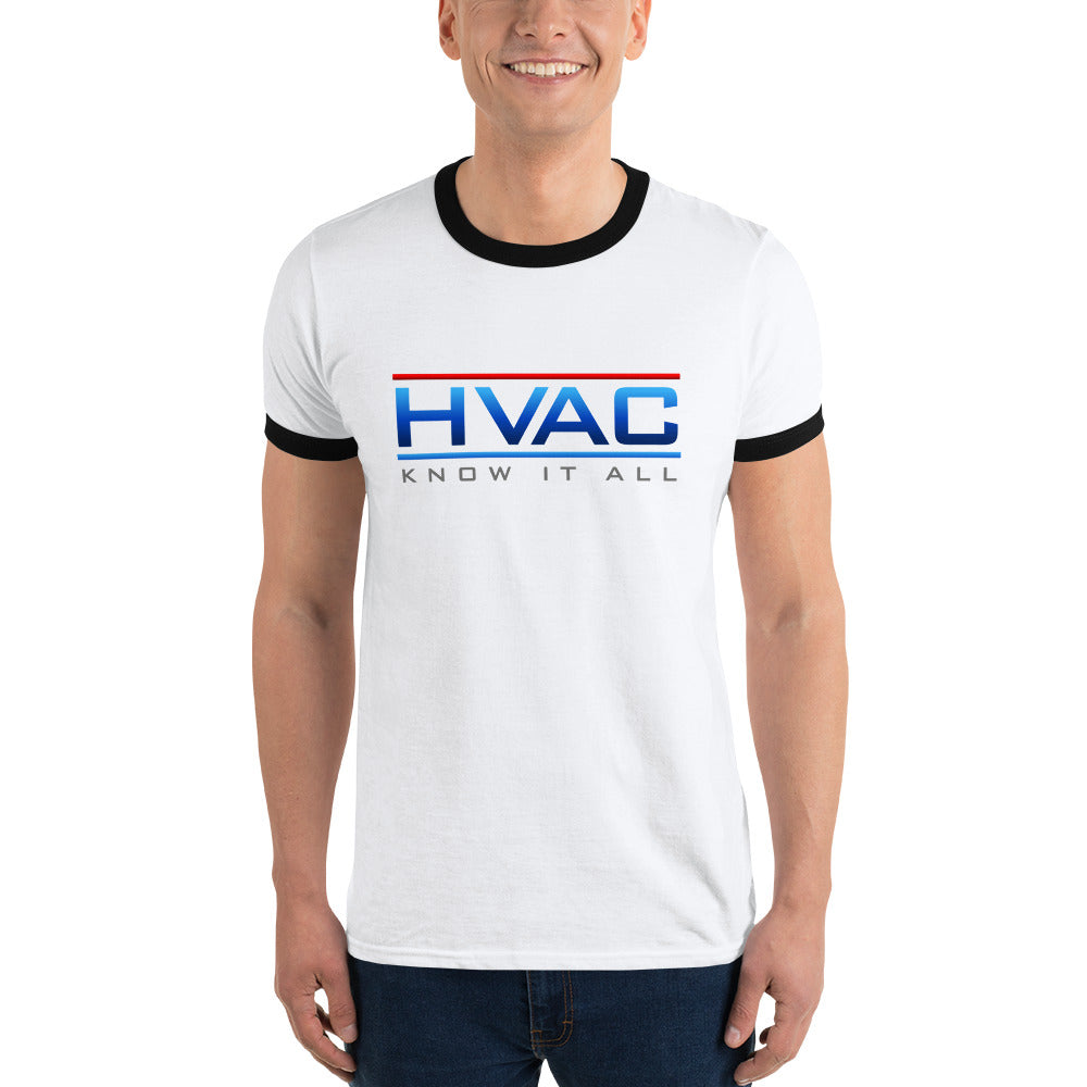 HVAC Know It All Ringer T-Shirt