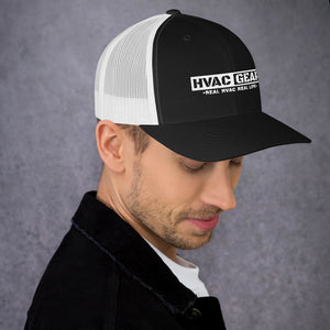 HVAC Gear Curved Bill Trucker Cap