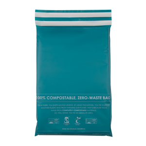 Teal Home Compostable HEROPACK Mailers - from packs of 25