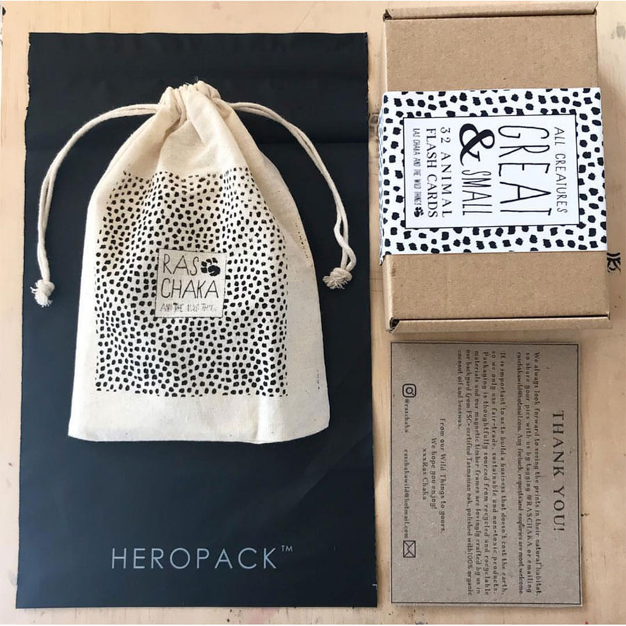Home Compostable HEROPACK Shipping Mailer in Black - from packs of 25