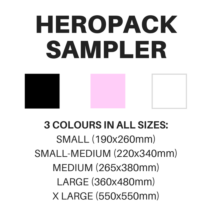 NEW 2020 SAMPLES! HEROPACK Sample Pack