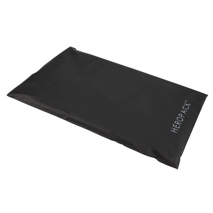 NEW! Home Compostable HEROPACK Shipping Mailer in Black - from packs of 25