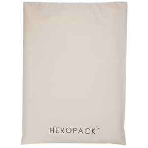 White/Grey Home Compostable HEROPACK Mailers - from packs of 25