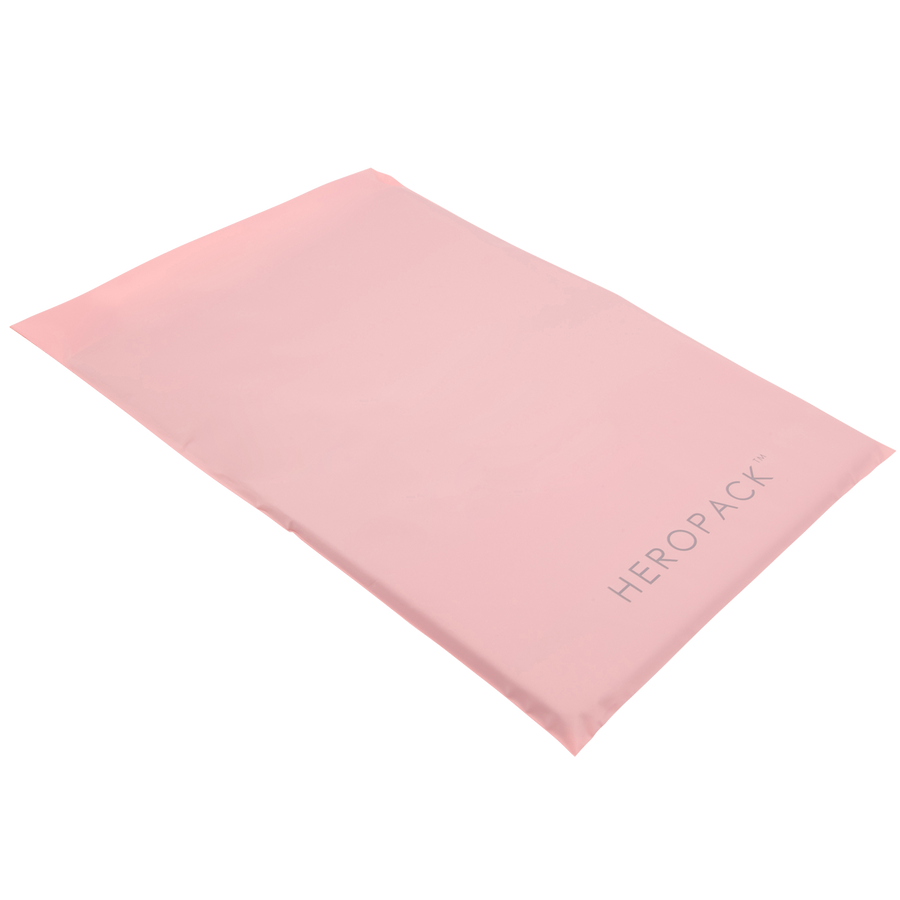 NEW! Home Compostable HEROPACK Shipping Mailer in Pink - from packs of 25