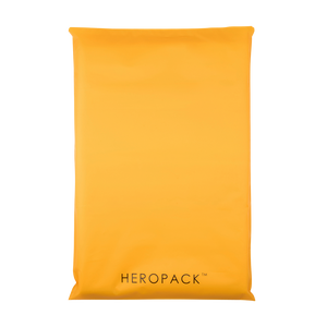 Yellow Home Compostable HEROPACK Mailers- from packs of 25