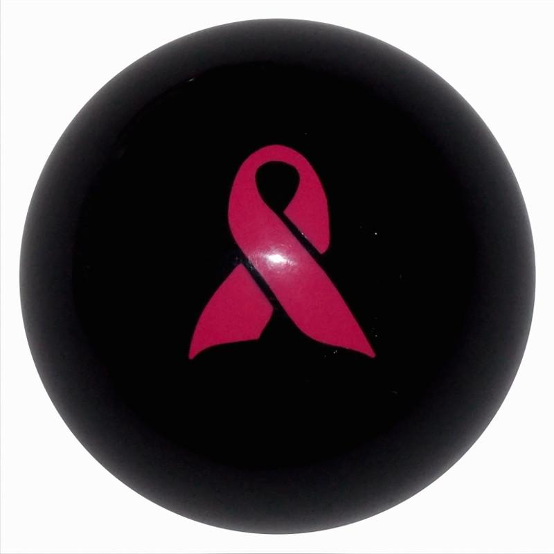 Pink Ribbon Awareness Black handle cane