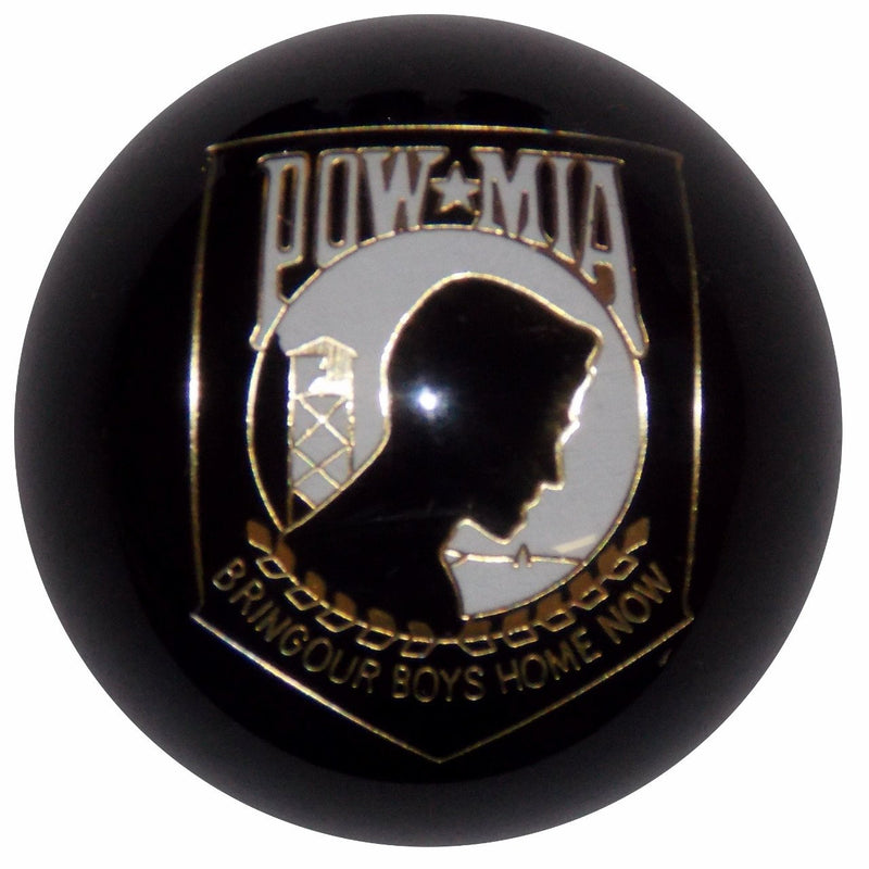 Black POW/MIA handle cane