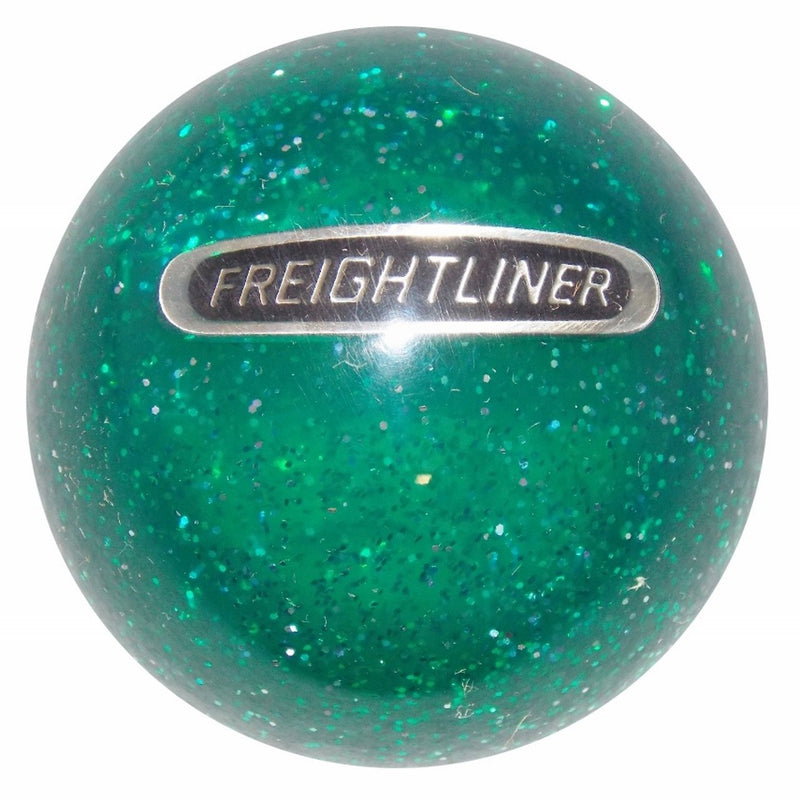 Green Glitter Freightliner handle cane