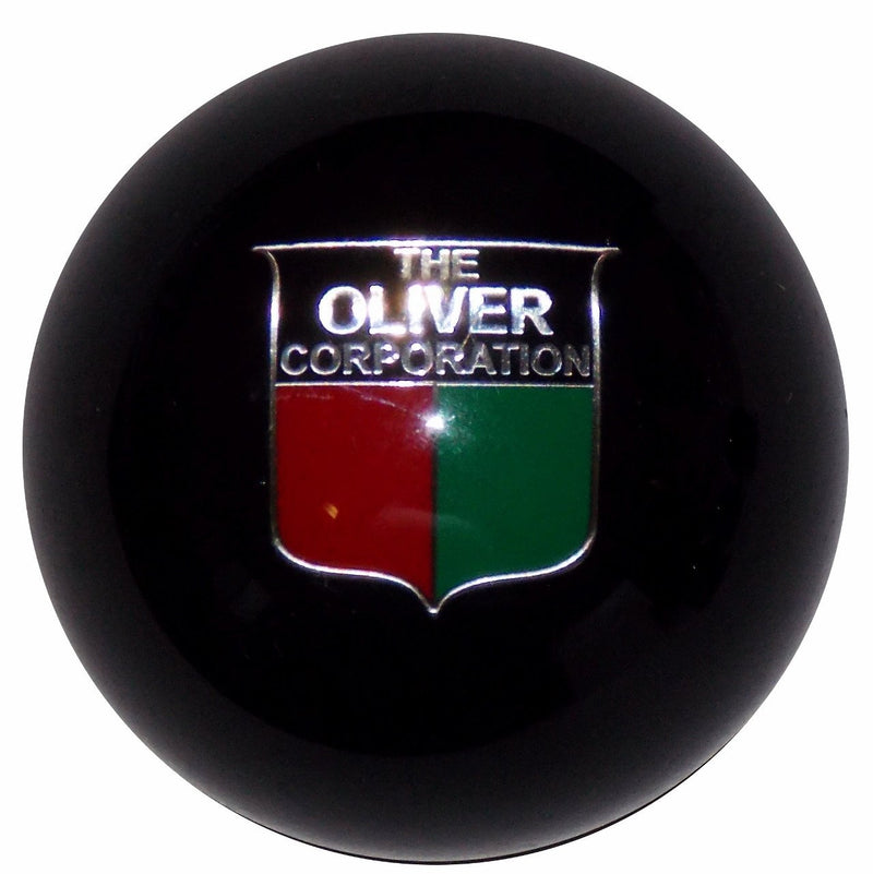 Oliver Emblem Black handle cane