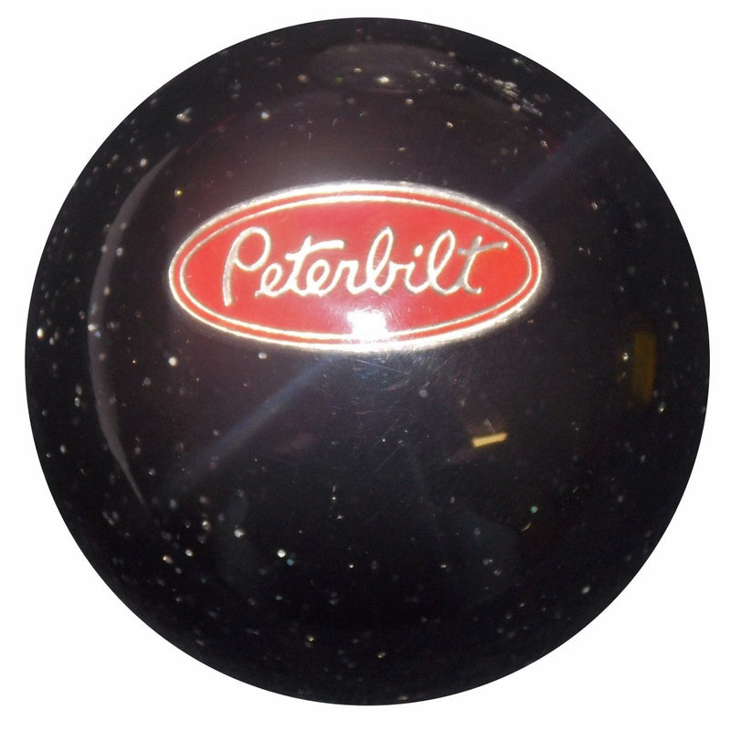 Black Glitter Peterbilt handle cane