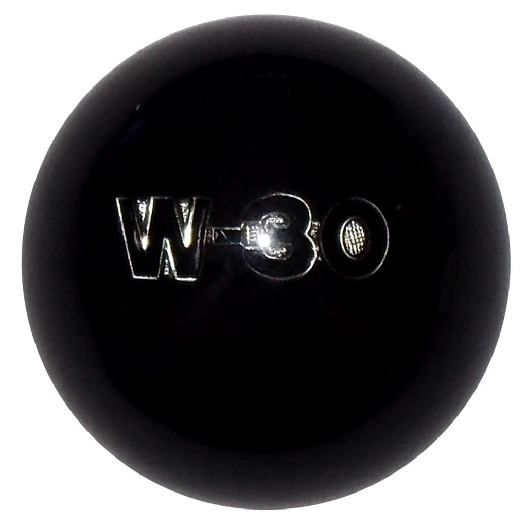 Black Oldsmobile W30 Emblem handle cane