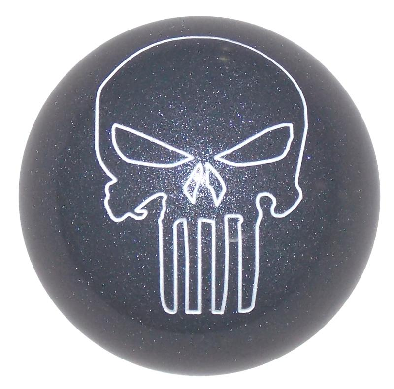 Punisher Skull Carbon Graphite Gloss handle cane