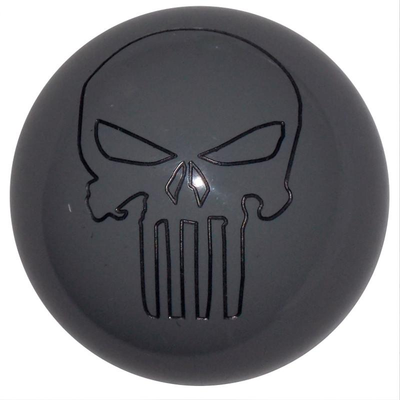Punisher Skull Gray handle cane