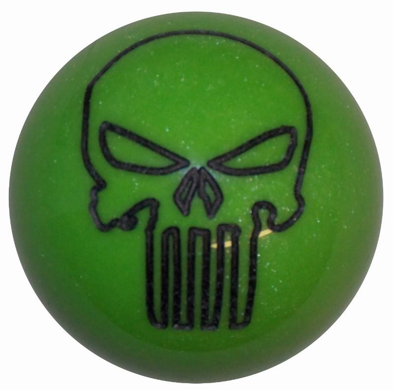 Punisher Skull Gotta Have it Green handle cane