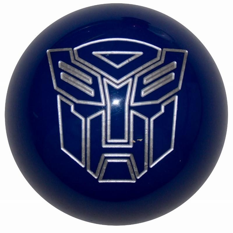 Blue Autobot handle cane