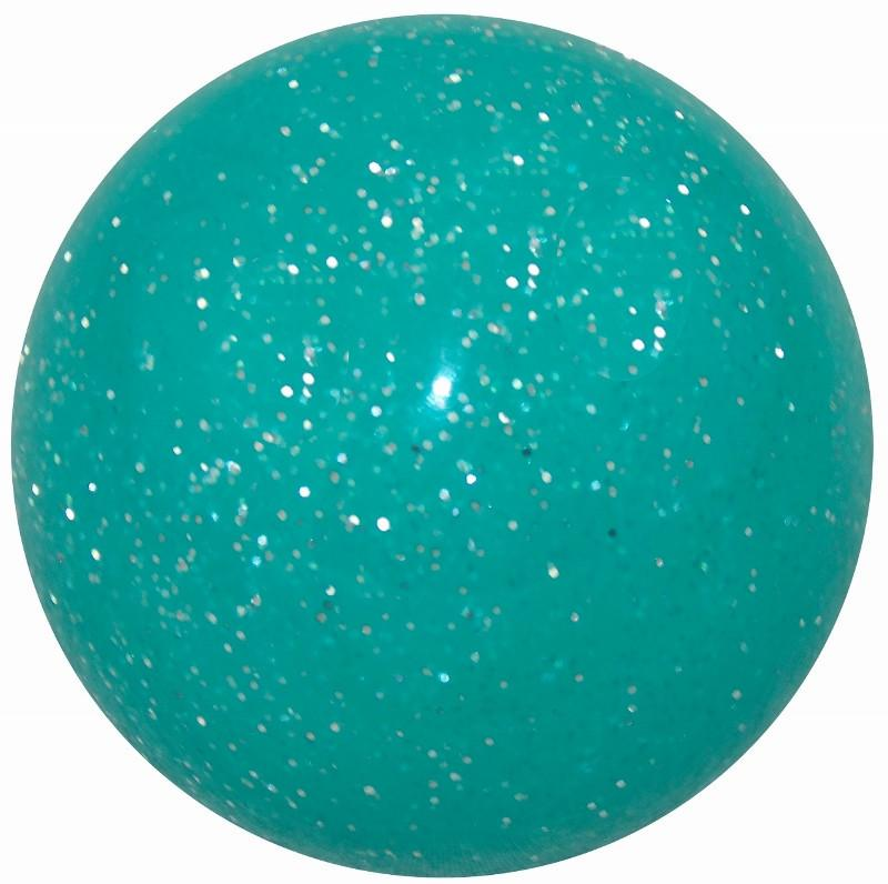 Teal Glitter handle cane