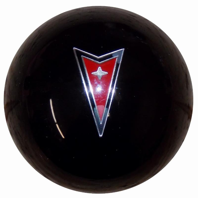 Black Pontiac Arrow Emblem handle cane