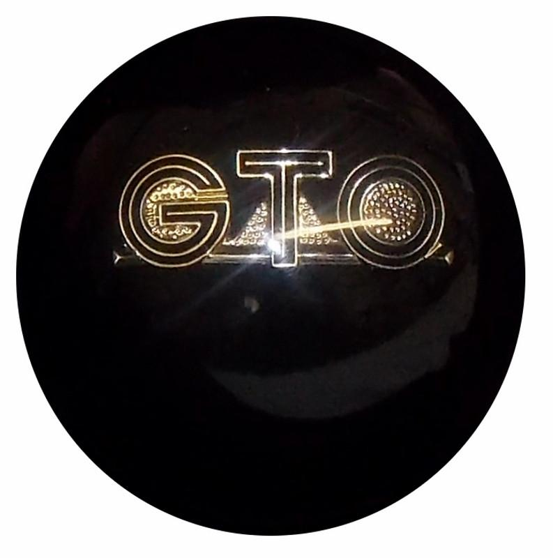 Black GTO Emblem handle cane