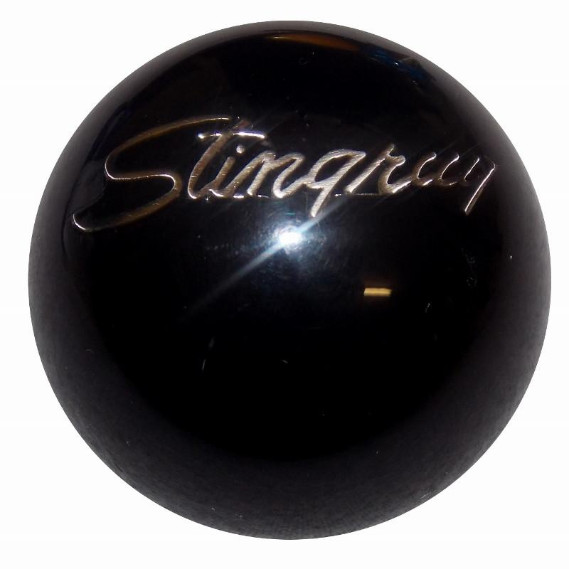 Black Stingray Emblem handle cane