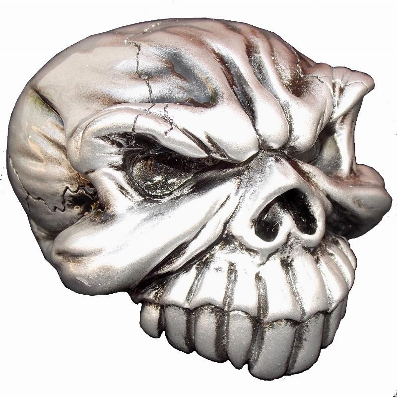 Gomez Skull - Pewter handle cane