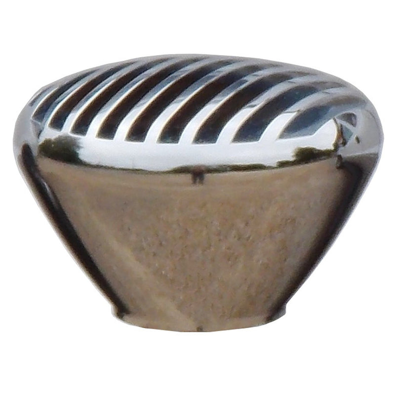 Chrome Billet Nostalgic Finned handle cane