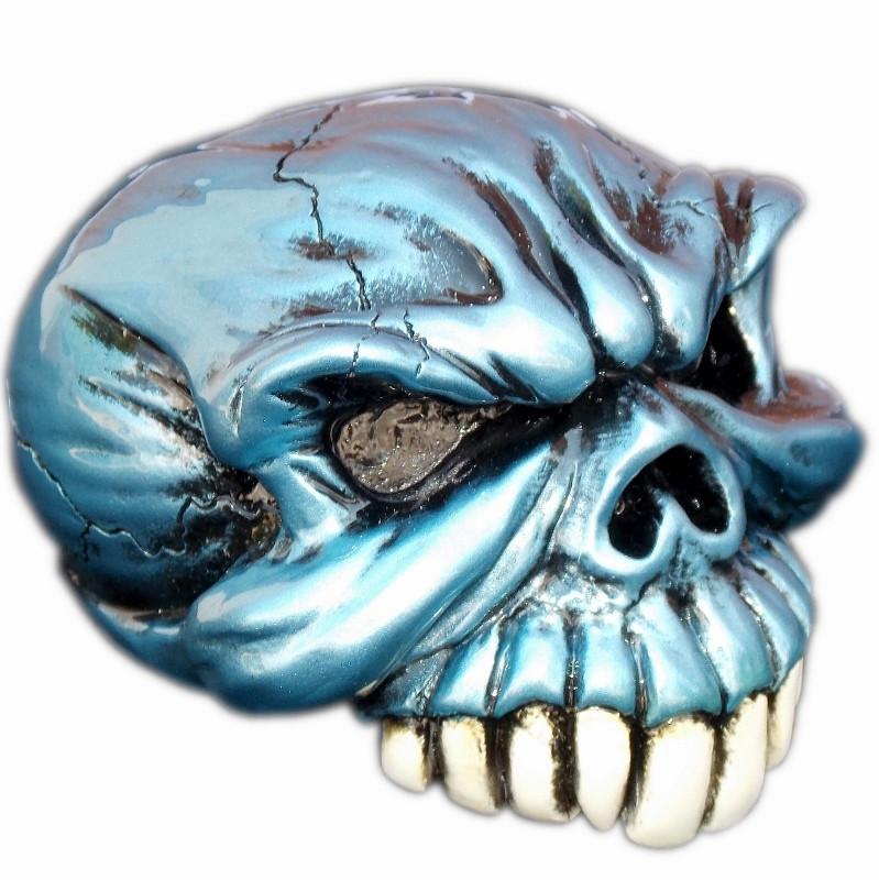 Gomez Skull - Blue handle cane
