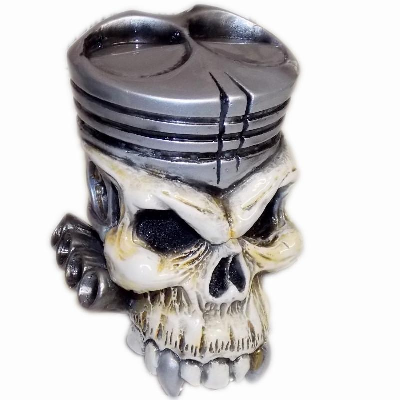 Piston Skull handle cane