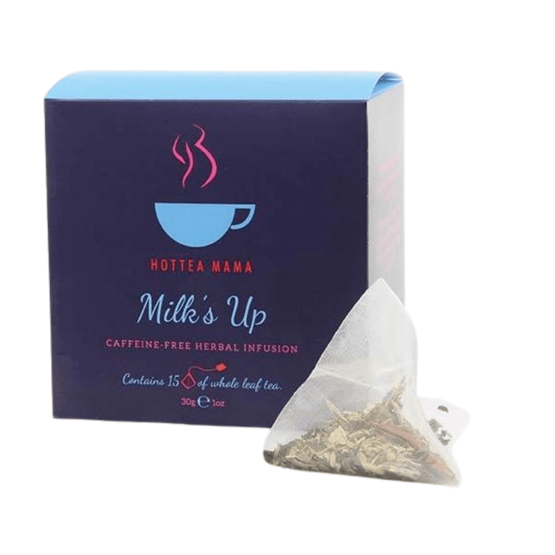 Hottea Mama Milk Up - Breastfeeding Tea for Nursing and Lactation Support - Mama's Box LLC