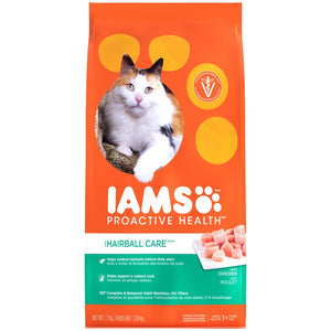 Iams ProActive Health Hairball Care Dry Cat Food