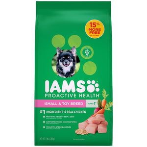 Iams ProActive Health Adult Small and Toy Breed Dry Dog Food