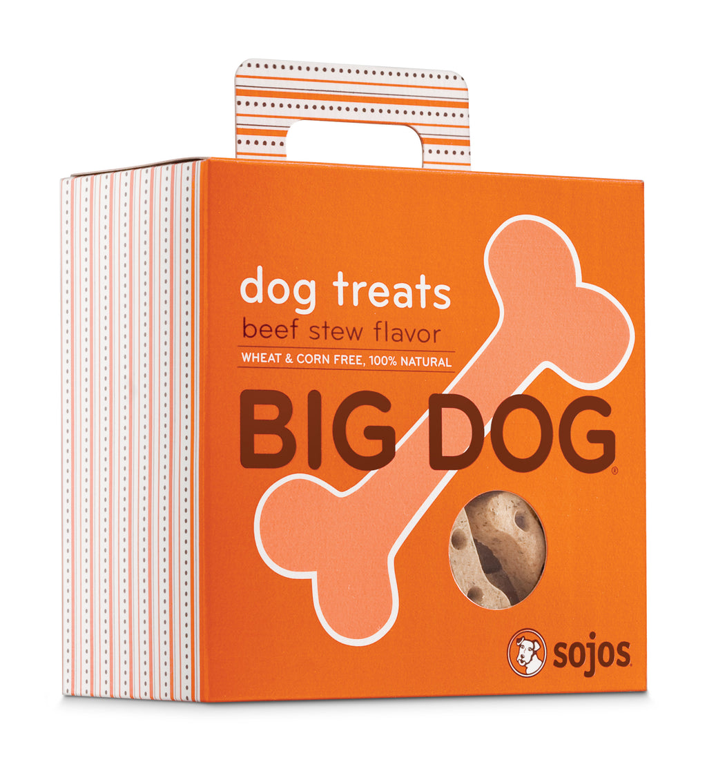 Sojos Big Dog Beef Stew Treats