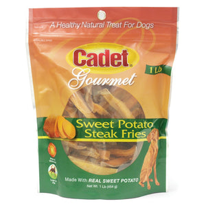 Cadet Gourmet Sweet Potato Steak Fries Dog Treats