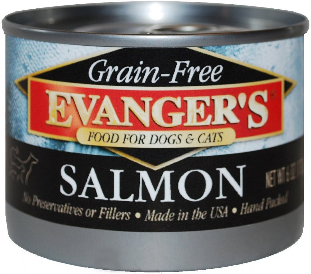 Evangers Grain Free Wild Salmon Canned Cat and Dog Food