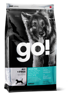 Petcurean Go! Fit and Free Grain Free Adult Recipe Dry Dog Food