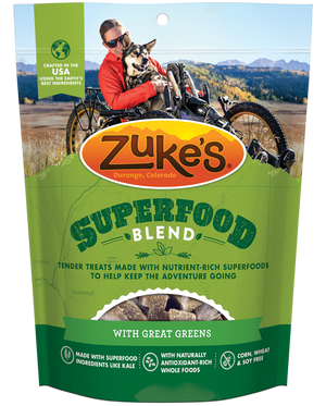 Zukes SuperFood Blend with Great Greens Dog Treats