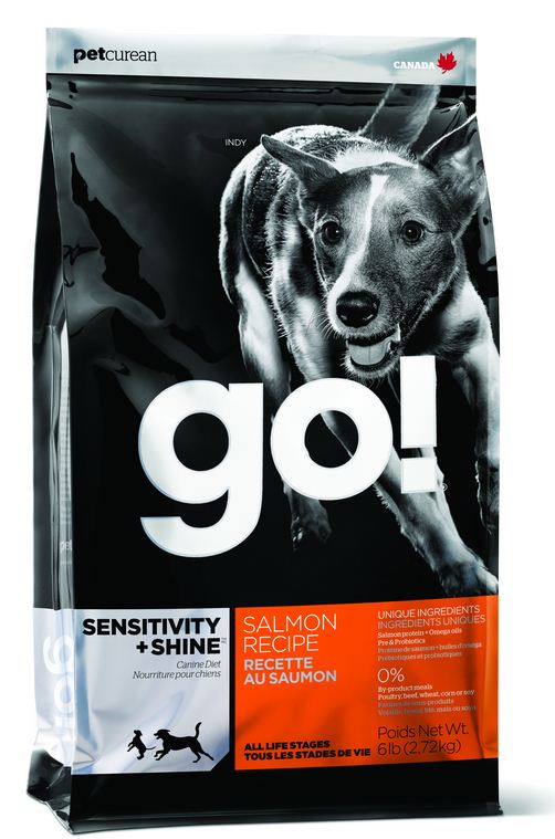 Petcurean Go! Sensitivity and Shine Salmon Dry Dog Food