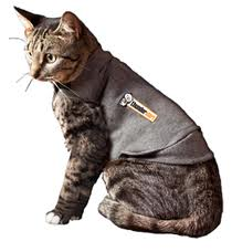 Thundershirt Gray Polo for Cats