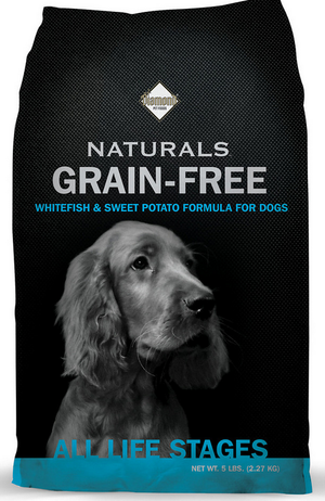 Diamond Naturals Grain Free White Fish and Sweet Potato Dry Dog Food