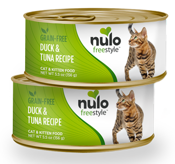 Nulo FreeStyle Grain Free Duck and Tuna Recipe Canned Kitten and Cat Food