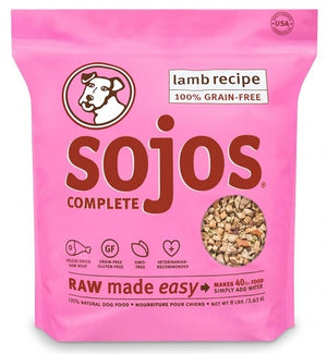 Sojos Lamb Complete Dog Food Mix
