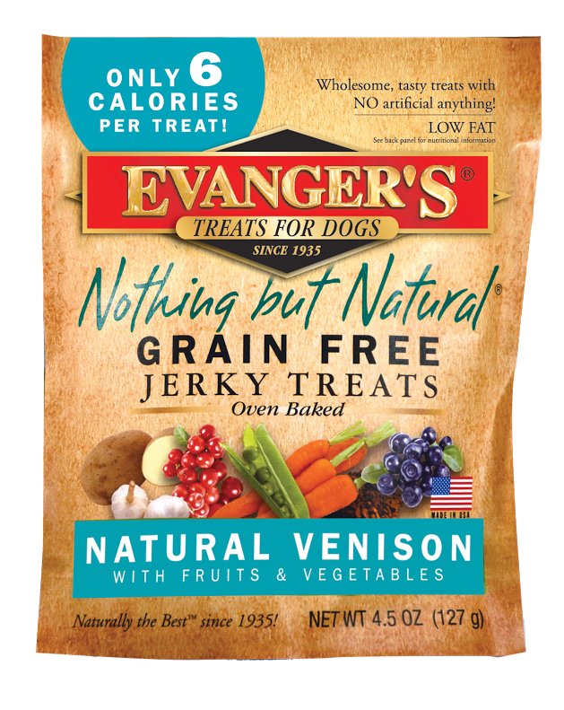 Evanger's Grain Free Venison with Fruits and Veggies Dog Treats